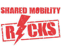 Shared Mobility Rocks Logo